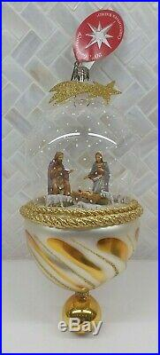 Radko Italian Nativity Ornament Bethlehem Blessed 20th Anniversary