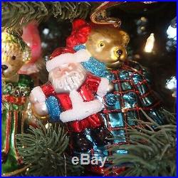 Radko MUFFY 2008 MIRACLE ON 34TH STREET Glass Christmas Ornament 1014400