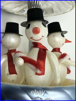 Radko Ornament Frosty Carousel Limited Edition #292/2500 with tag and box