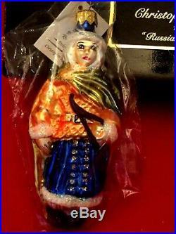 Radko RUSSIAN RHAPSODY Set 6 Ornaments Box Tags 1996 Ltd #4642/7500, NEW sealed