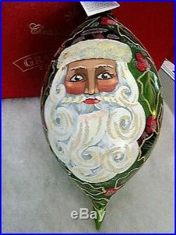 Radko Regency Santa 1997 Glass Ornament 97-sp-24 #179/2500 10 Vintage