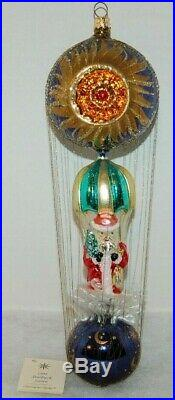 Radko STARBUCK SANTA Christmas Ornament 94-SP-03 INCREDIBLE RARE LARGE