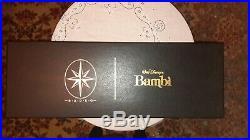 Radko Signed Disney Bambi 55th Anniversary Christmas Ornament Set #438 of 2500