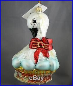 Radko Six Geese A Laying 1998 Ornament #8156/10,000 Twelve Days of Christmas