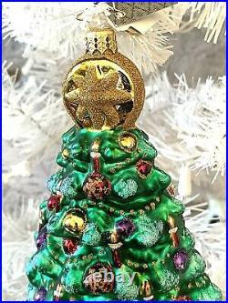 Radko Terrific Tannenbaum Christmas Tree Ornament 1015805 9 Fur Fir Spruce Pine