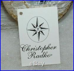 Radko VICTORIAN BALLOON ANGEL Christmas Ornament 92-122-0A HUGE, INCREDIBLE