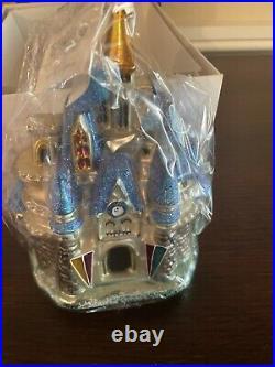 Radko Walt Disney World Exclusive Cinderella Castle Ornament 98-DIS-42 NIB