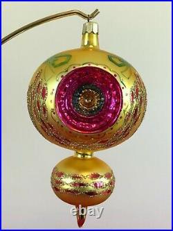 Rare Christopher Radko 1992 Midas touch Ornament