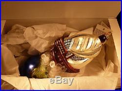 Rare Christopher Radko Christmas Ornament Columbus Ship Explorer Limited Edition