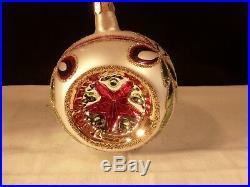 Rare Christopher Radko Christmas Ornament Star Of Wonder Reflector 6th Signed