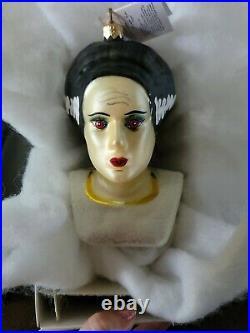 Rare Christopher Radko Ornament Universal Monsters Bride of Frankenstein