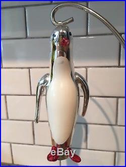 Rare Christopher Radko Penguin Shivers Ornament Italian Ornament 94-262-0 1994