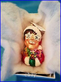 Rare Limited Edition Radko Sir Elton John Christmas Ornament Mint In Black Box