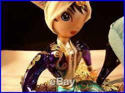 Rare Stunning Christopher Radko Christmas Ornament Magic Carpet Ride Aladdin Ita