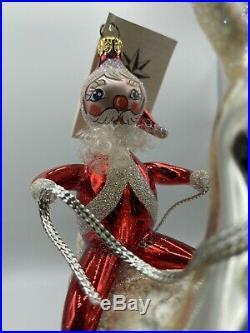 Rare christopher radko ornament Vintage Ornament Sterling Rider 1998