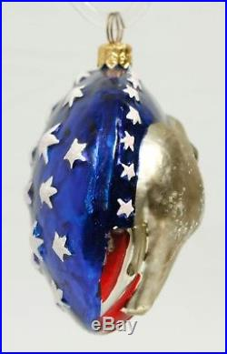 Republican Elephant It's a Party Patriotic Christopher Radko Christmas Ornament
