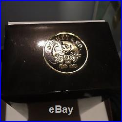 Set Of 4 Christopher Radko 1997 Noel Minnie Glass Ornament New In Box