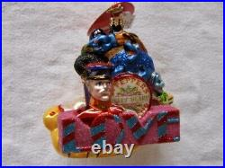 The Beatles Christopher Radko All Together Now Christmas Ornament! New