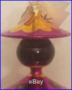 VERY RARE 2001 NWT Christopher Radko PEKING MAIDENS 3 Totem Ornament 01-1108-0