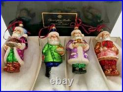 VTG CHRISTOPHER RADKO Cookbook Santas 1998 ORNAMENTS LTD EDITION