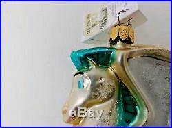 Vintage 1997 Disney Hercules Pegasus Christopher Radko Christmas Ornament with Box