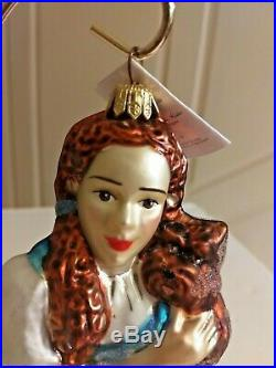 Vintage Christopher Radko DOROTHY & TOTO Ornament Wizard Of Oz 1997 LE Box