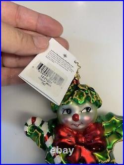 Vintage Christopher Radko HOLLY JEAN Christmas Ornament & Box