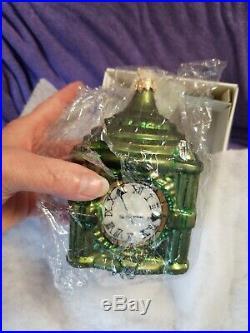 Vintage Radko Ornament Marshall Fields Clock LE 4951/5000 NIB