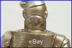 Wizard of Oz Tin Man 98 WB 09 Glass Christopher Radko Christmas Ornament